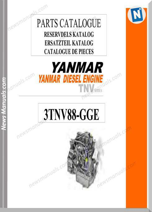 Yanmar 3Tnv88 Engine Parts Catalogue