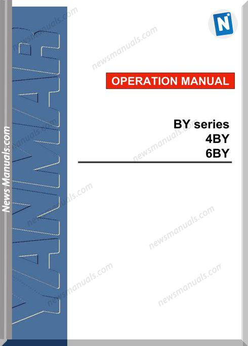 Yanmar 6By Models Service Manual