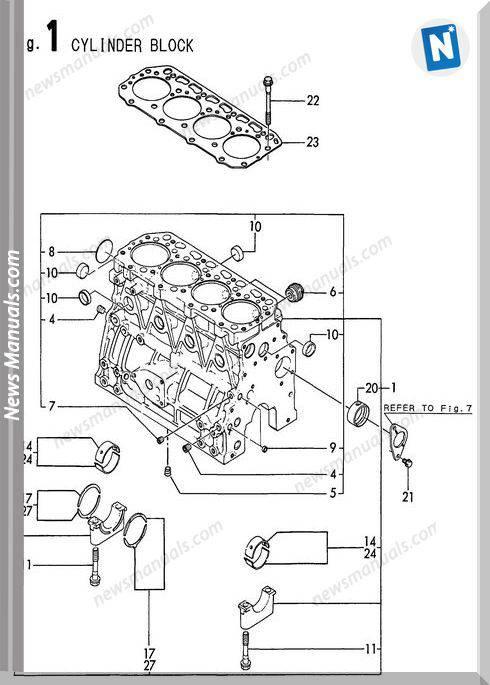 yanmar engine 4tne84t
