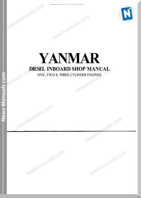 Yanmar Gm And Hm Workshop Manual