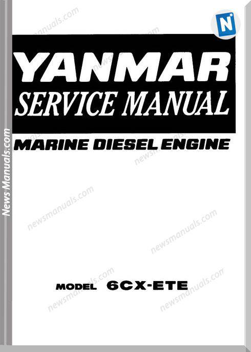 Yanmar Marine 6Cx-Ete Service Manual