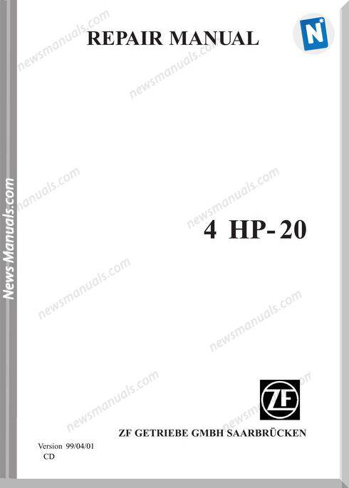 Zf 4Hp 20E Repair Manual 2