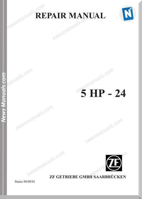 Zf 5Hp24E Repair Manual