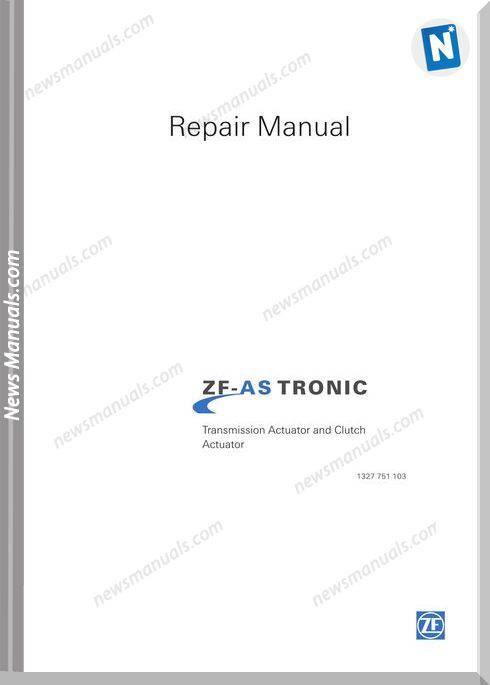 Zf-As Tronic Trucks 1327 751 103 2005 Repair Manual