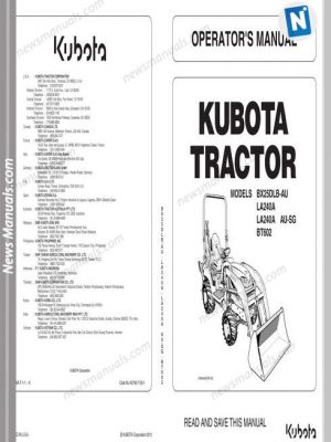kubota-tractor-bx25dlb-la240-bt602-workshop-manual-21430k410301-page1